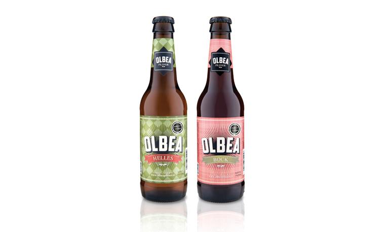Olbea beer packaging by Inés Elío Lamarca - Creative Work