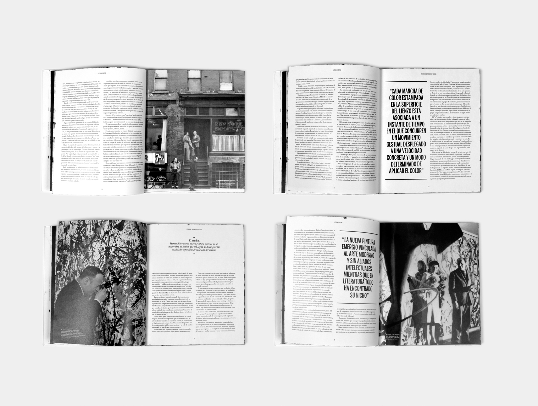ACTION PAINTING BOOK by TONI FALCÓ - MIQUEL SIMONET - Creative Work - $i