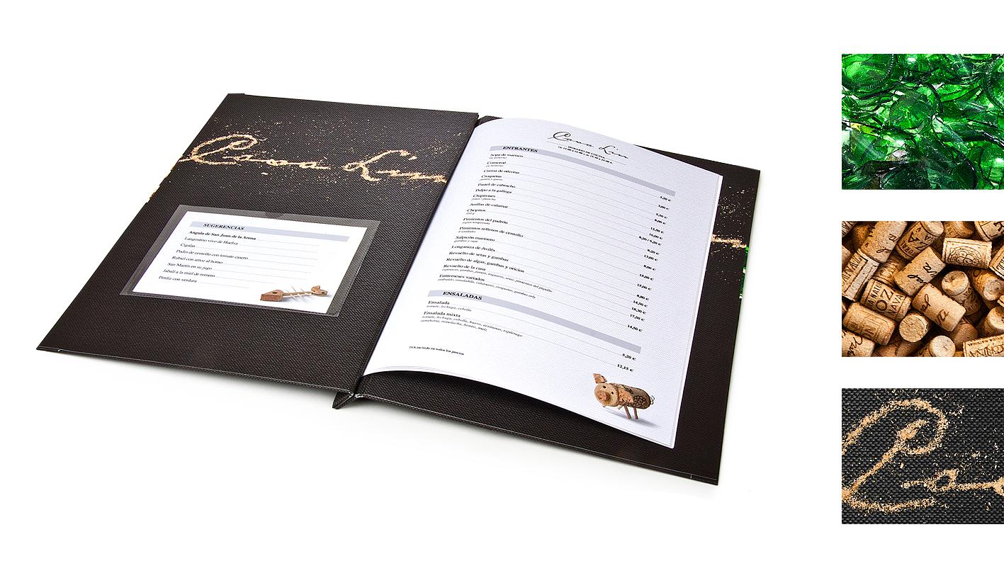 "Ilustraciones Carta Restaurante ""Casa Lin"" by Signum - Creative Work - $i"