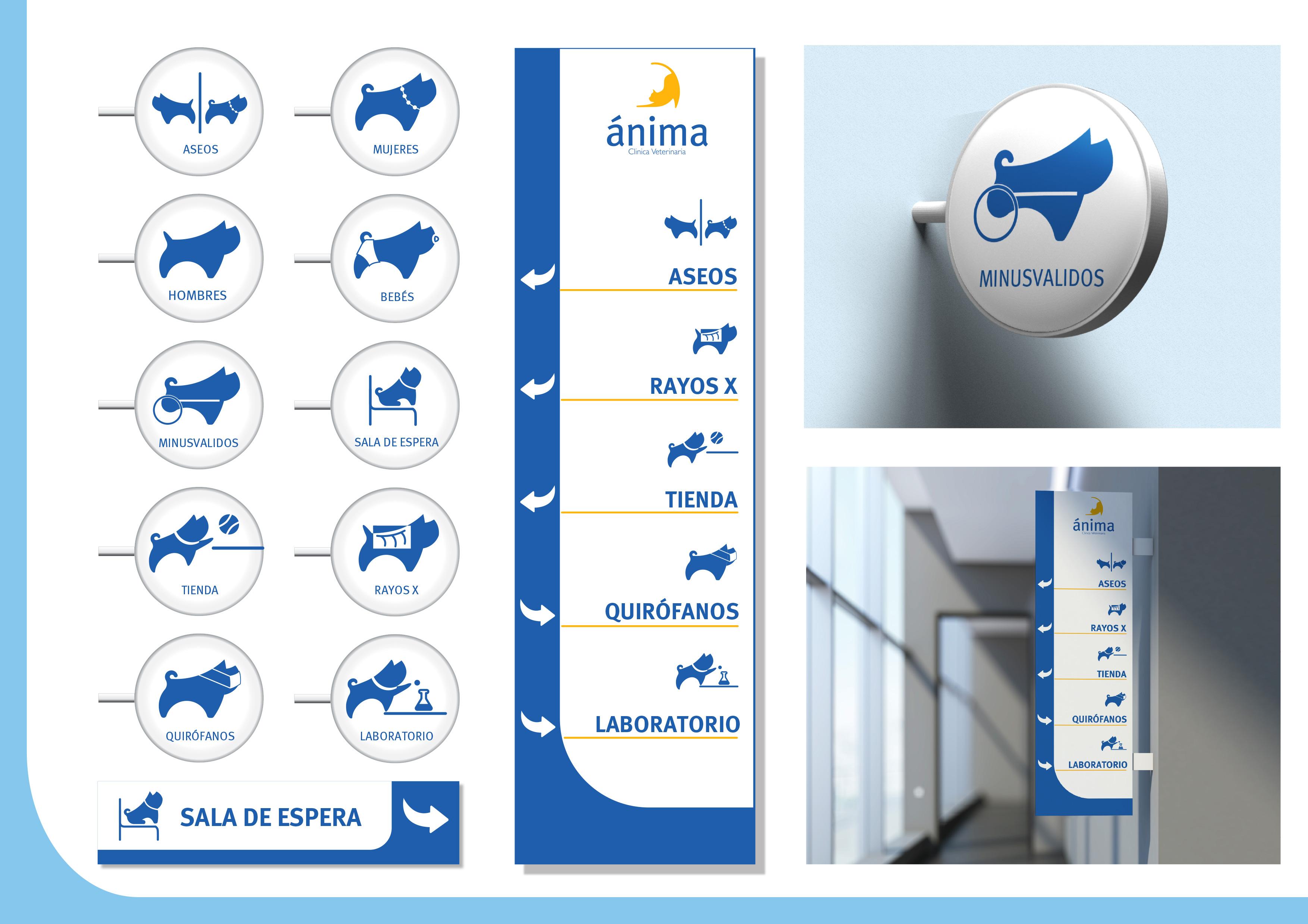 Manual Identidad Corporative - Anima Clinica Veterinaria by Pierré Swanepoel - Creative Work - $i