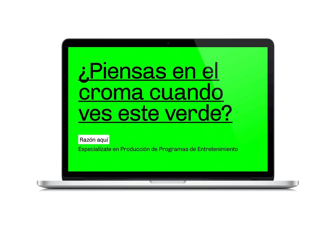 Campaña para el curso de Especialización de Programas de TV by Alberto Molina Arce - Creative Work - $i