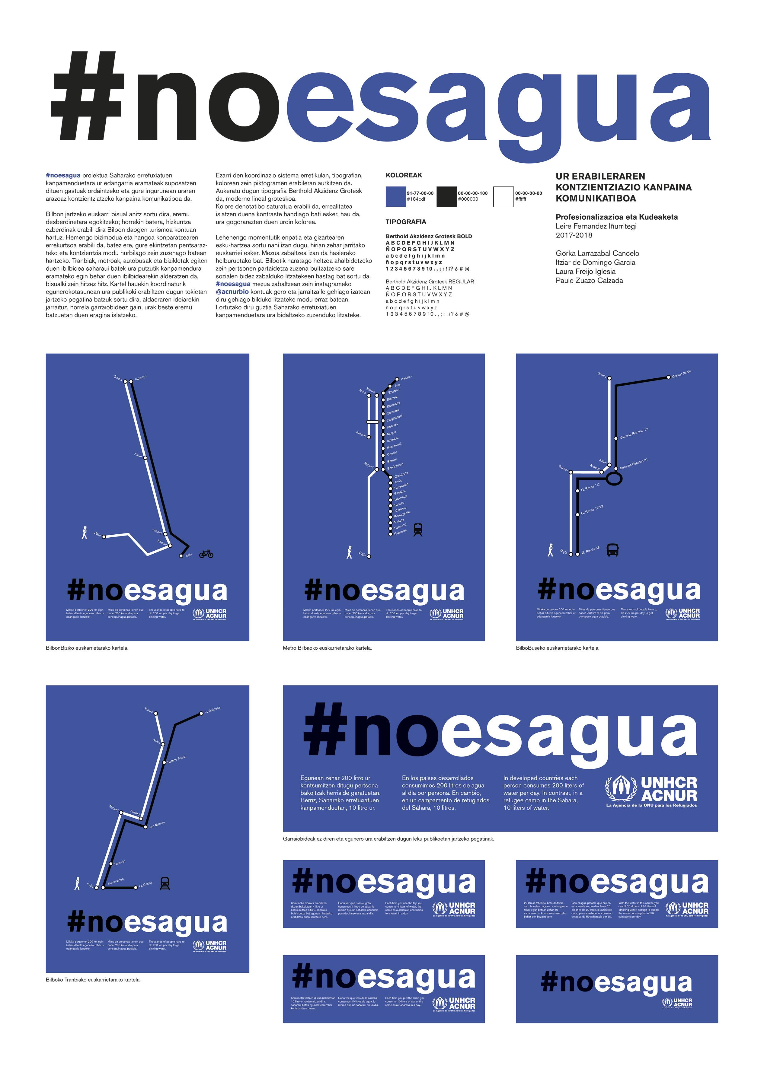 #noesagua by PigDesign - Creative Work