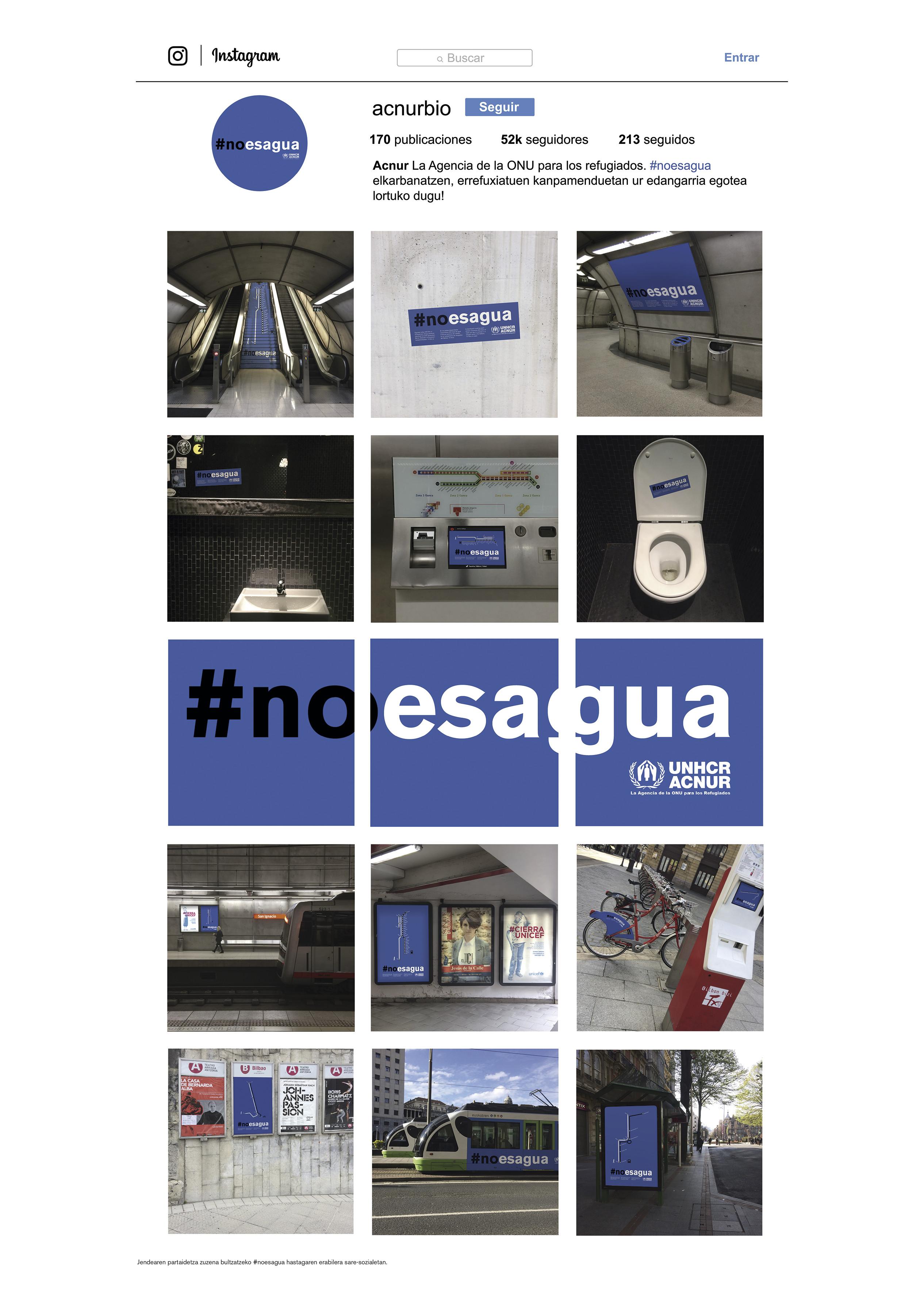 #noesagua by PigDesign - Creative Work - $i