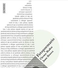Surrealismo y poesía visual en portada.