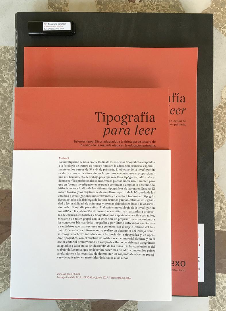 Tipografía para leer by Vanessa - Creative Work