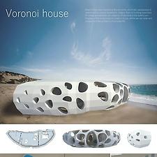 Voronoi house