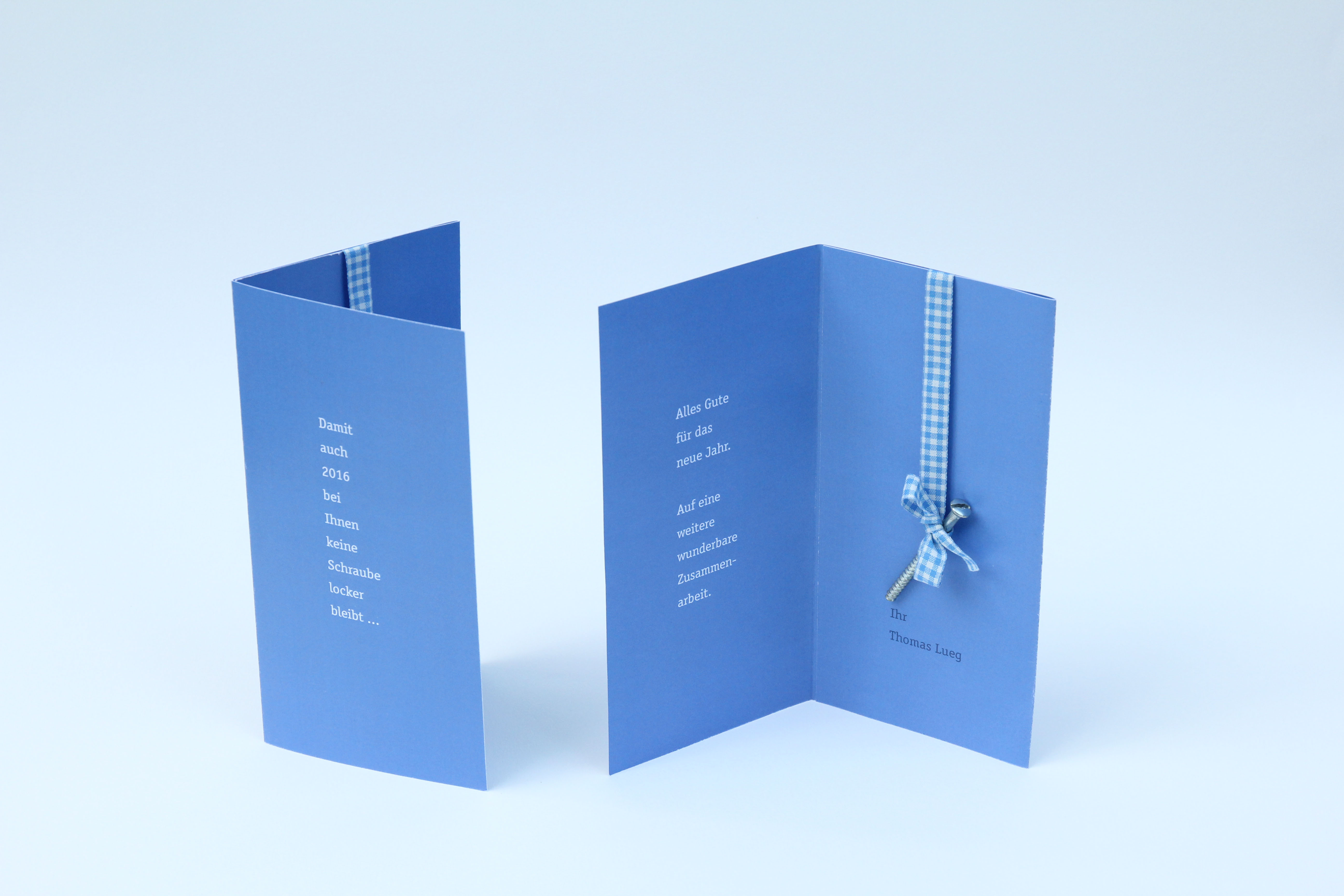 New Years Card 3 for a Carpenter by Daniela Franz - Creative Work