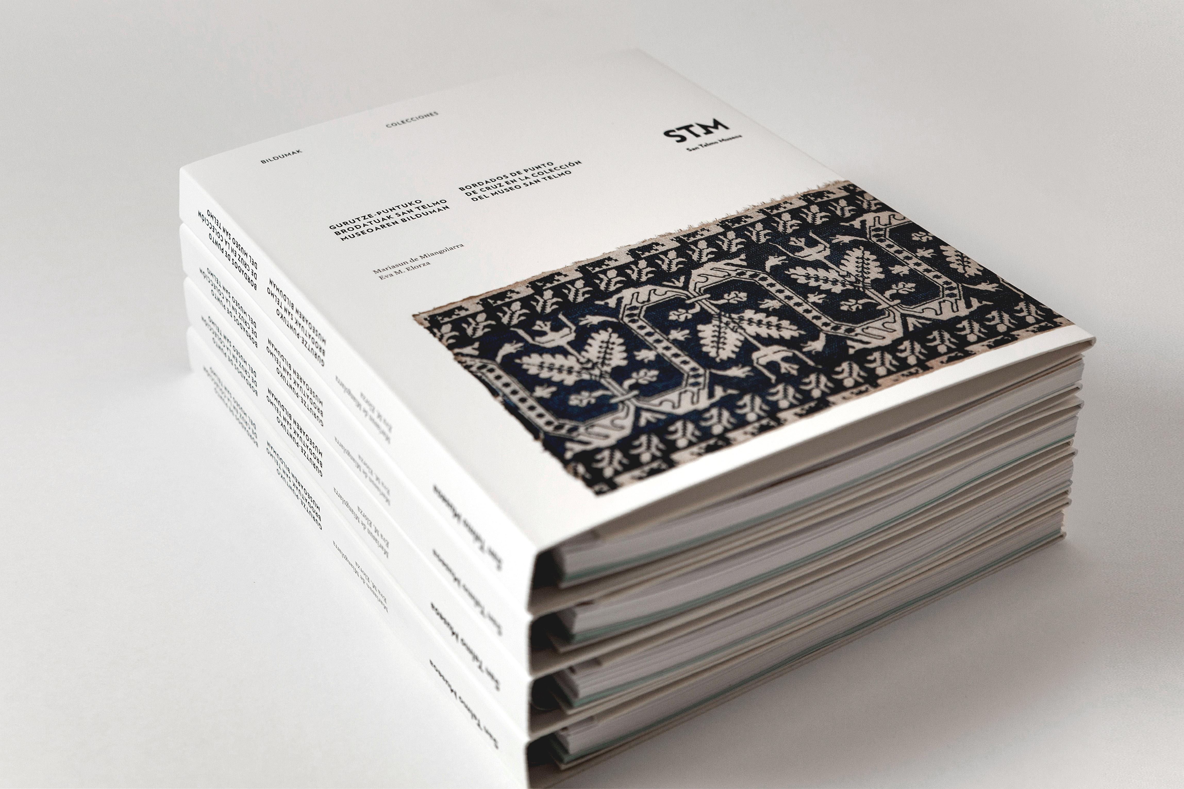 Bordados - Diseño editorial para STM by Strogoff Komunikazioa - Creative Work