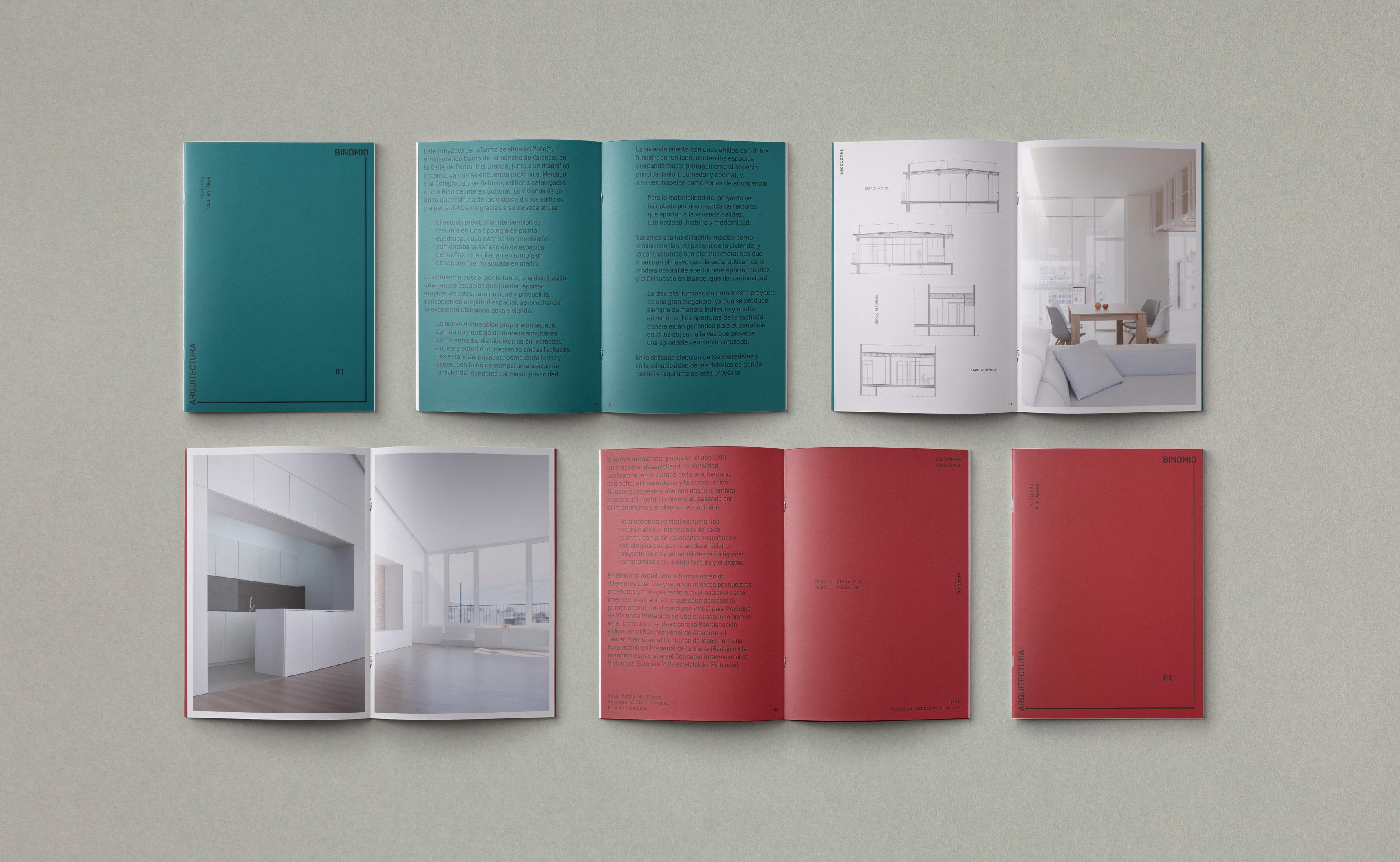 Binomio Arquitectura by NUEVE - Creative Work