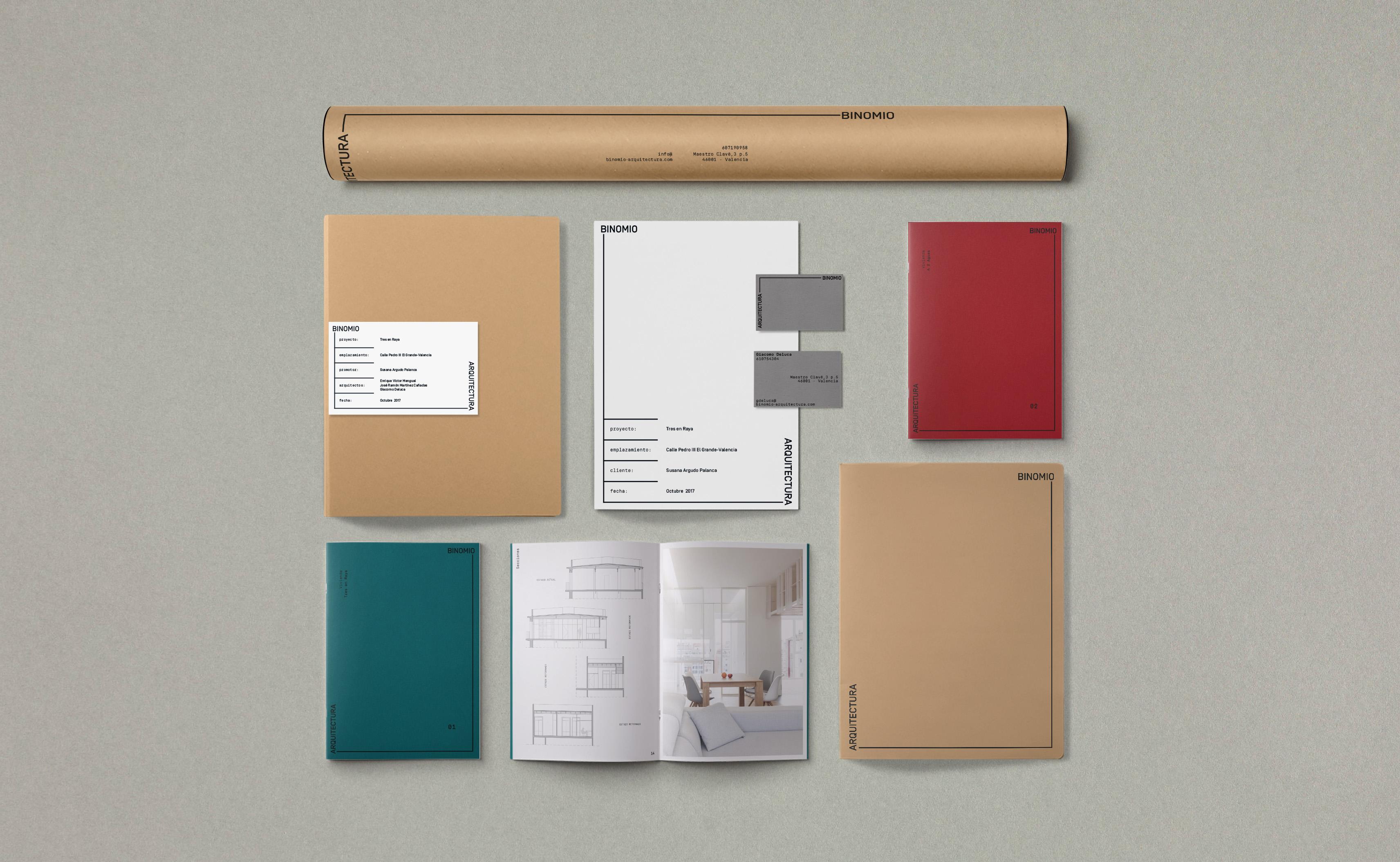Binomio Arquitectura by NUEVE - Creative Work - $i