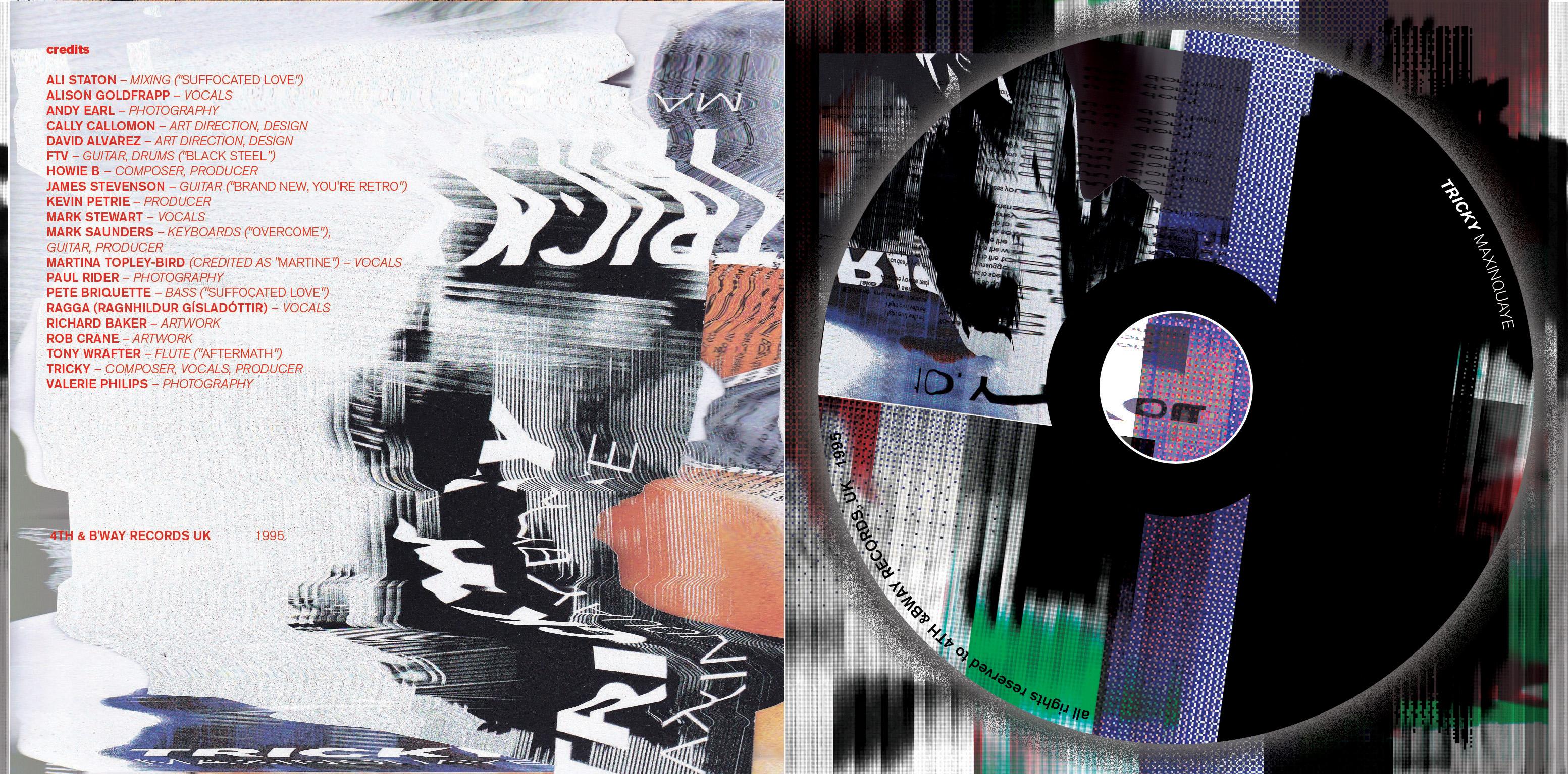 Tricky-Maxinquaye///Album Cover by Andrei Alecsandru Pantea - Creative Work