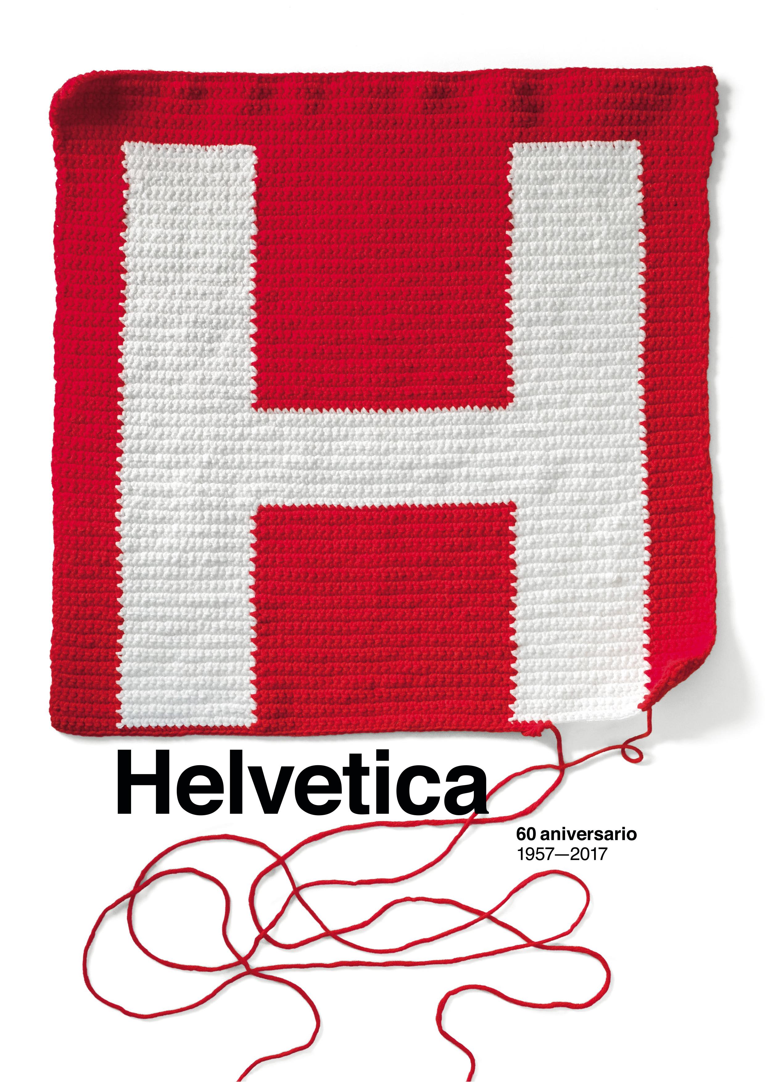 60th Anniversary Helvetica Typeface by Estudio Pep Carrió - Creative Work