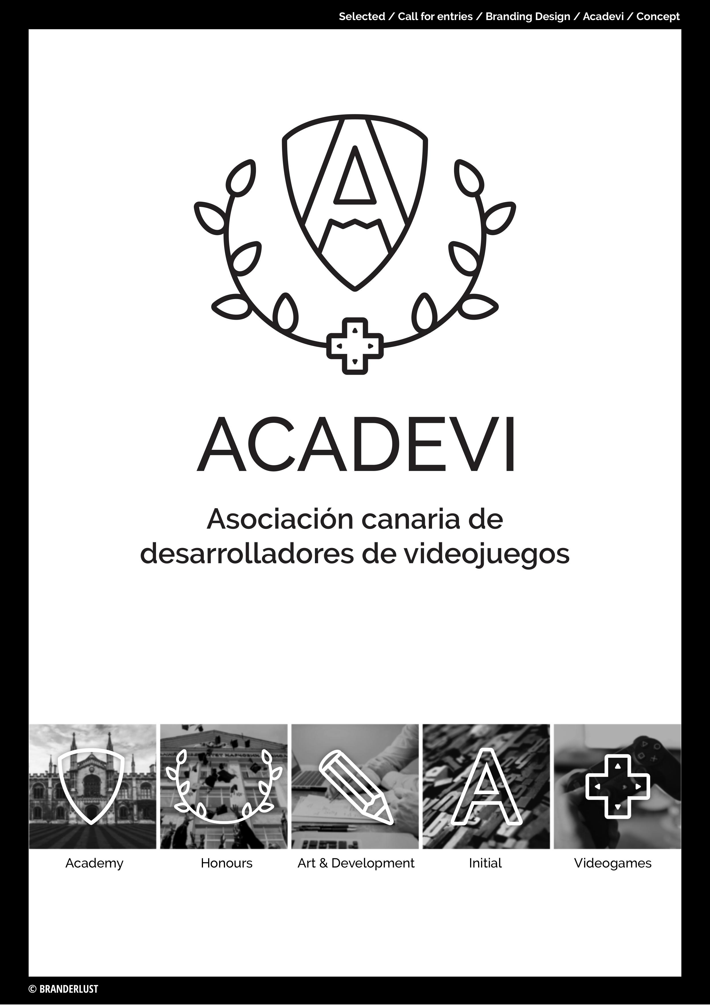 ACADEVI by Branderlust - Creative Work