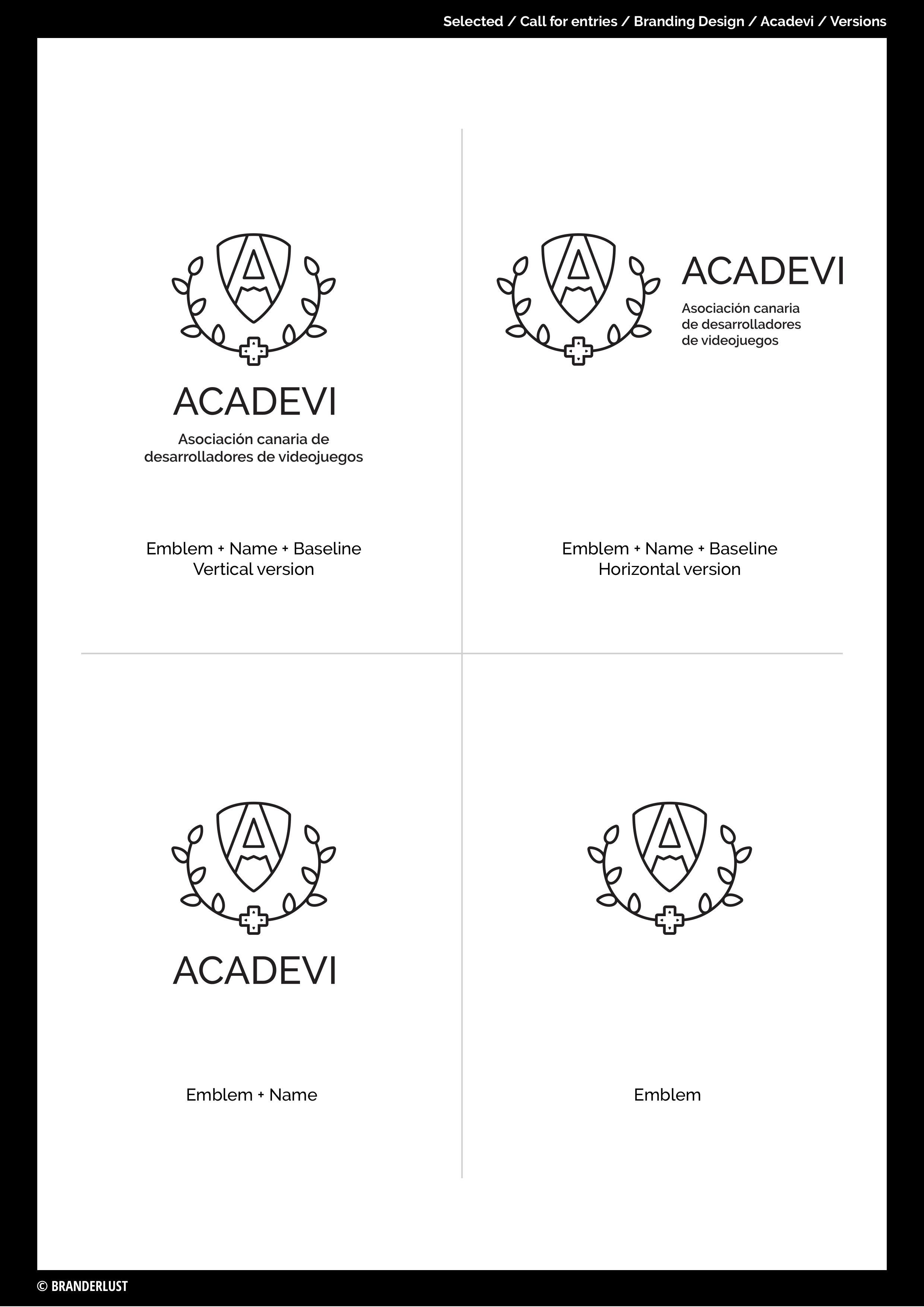ACADEVI by Branderlust - Creative Work - $i