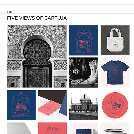 FIVE VIEWS OF CARTUJA