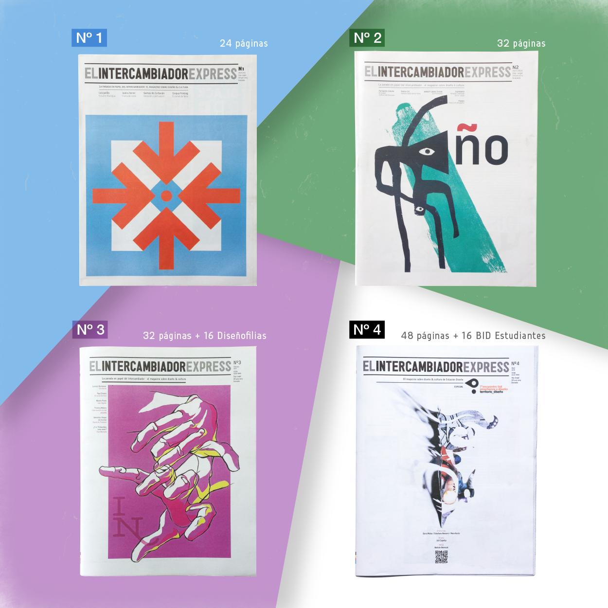 El Intercambiador Express. El magazine sobre diseño y cultura de Estación Diseño by Varios autores - Creative Work