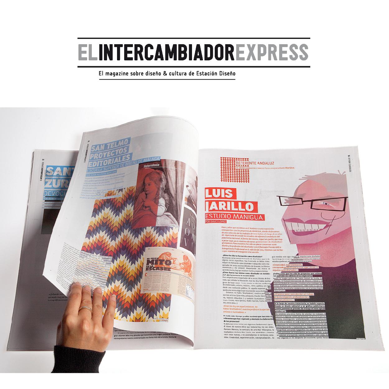 El Intercambiador Express. El magazine sobre diseño y cultura de Estación Diseño by Varios autores - Creative Work - $i