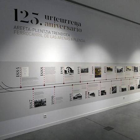 EXPOSICIÓN 125º ANIVERSARIO DEL FERROCARRIL AREETA-PLENTZIA