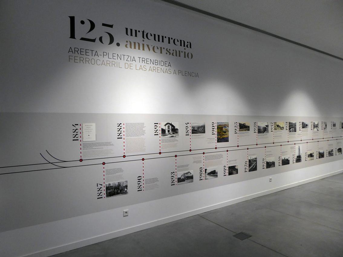 EXPOSICIÓN 125º ANIVERSARIO DEL FERROCARRIL AREETA-PLENTZIA by aktuart - Mikel Rico - Creative Work