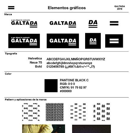Galtada: Branding.
