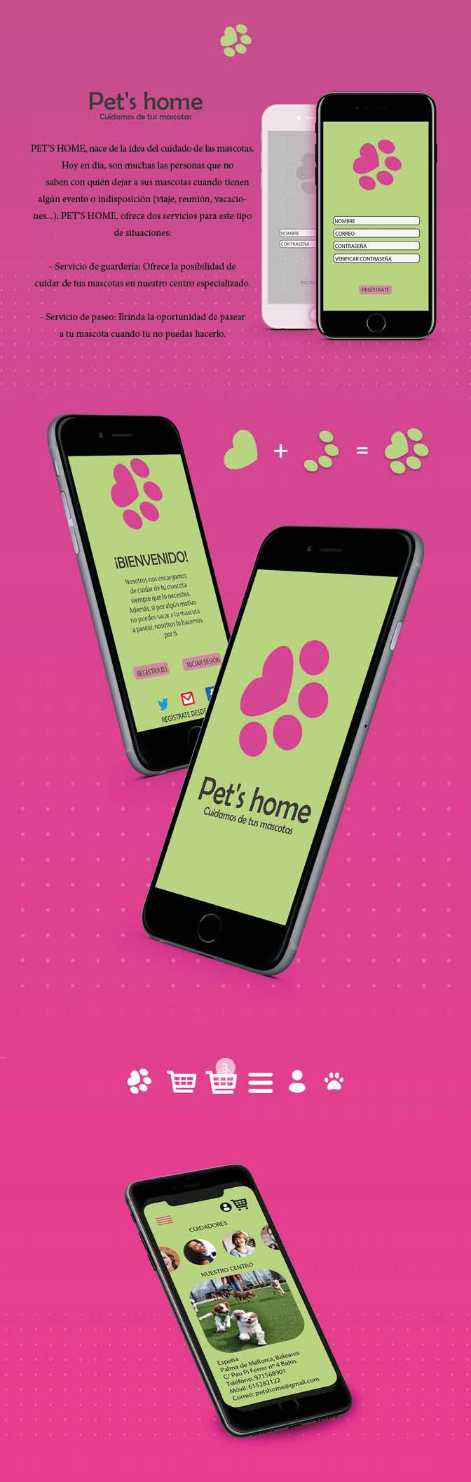 App Mascotas by Raquel Castañeda Gelabert - Creative Work - $i