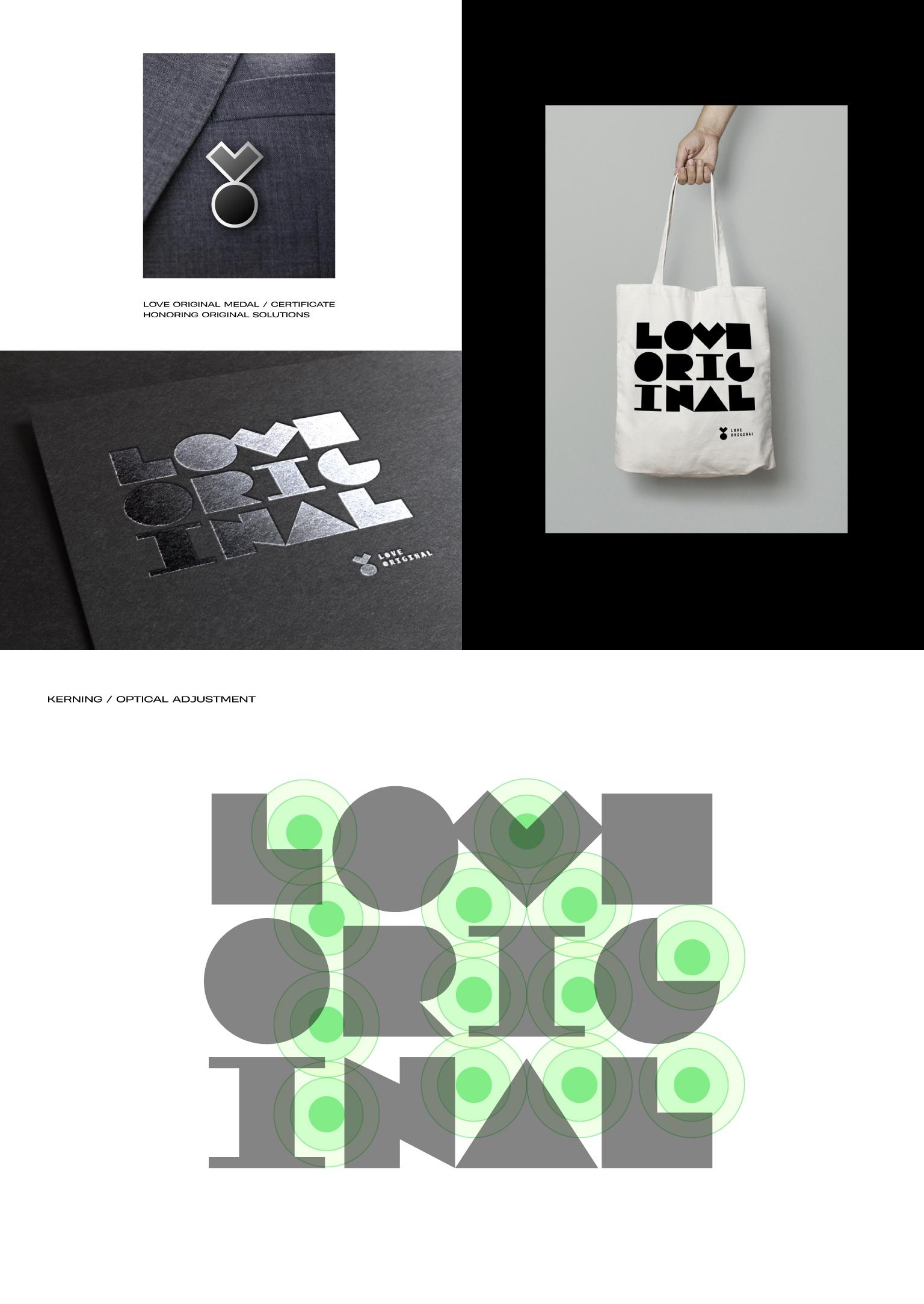 Love Original identity by Wojciech Janicki - Creative Work - $i