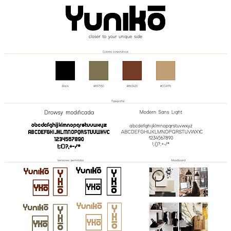 Yuniko (Proyecto de branding para una …
