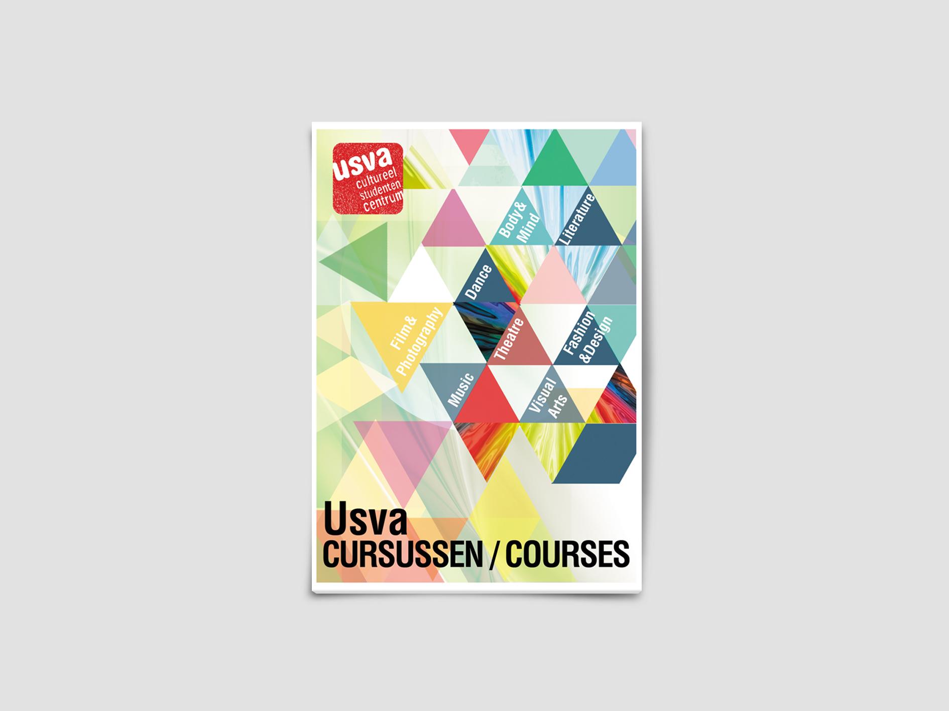 USVA COURSES Brochure by Javi Olalla - Creative Work