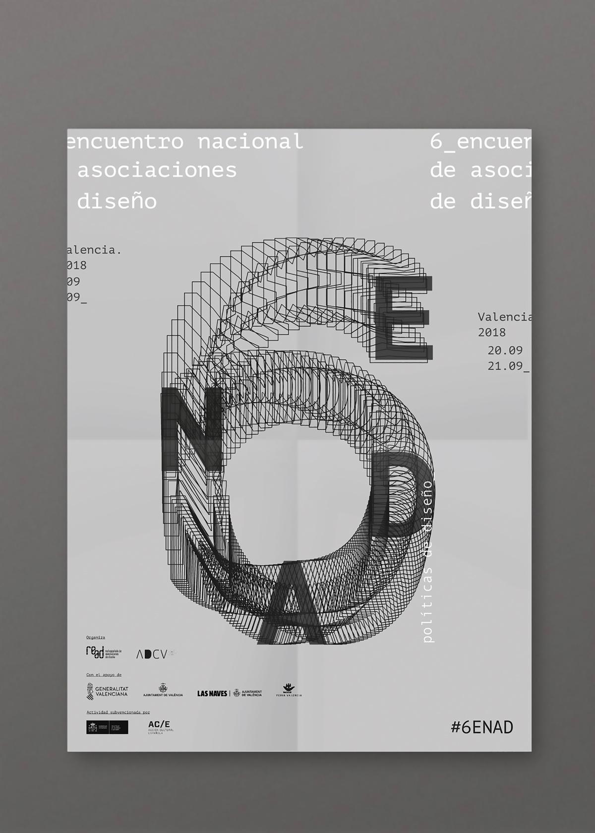 6º Encuentro Nacional de Asociaciones de Diseño _ 6ENAD by CREATIAS ESTUDIO - Creative Work - $i