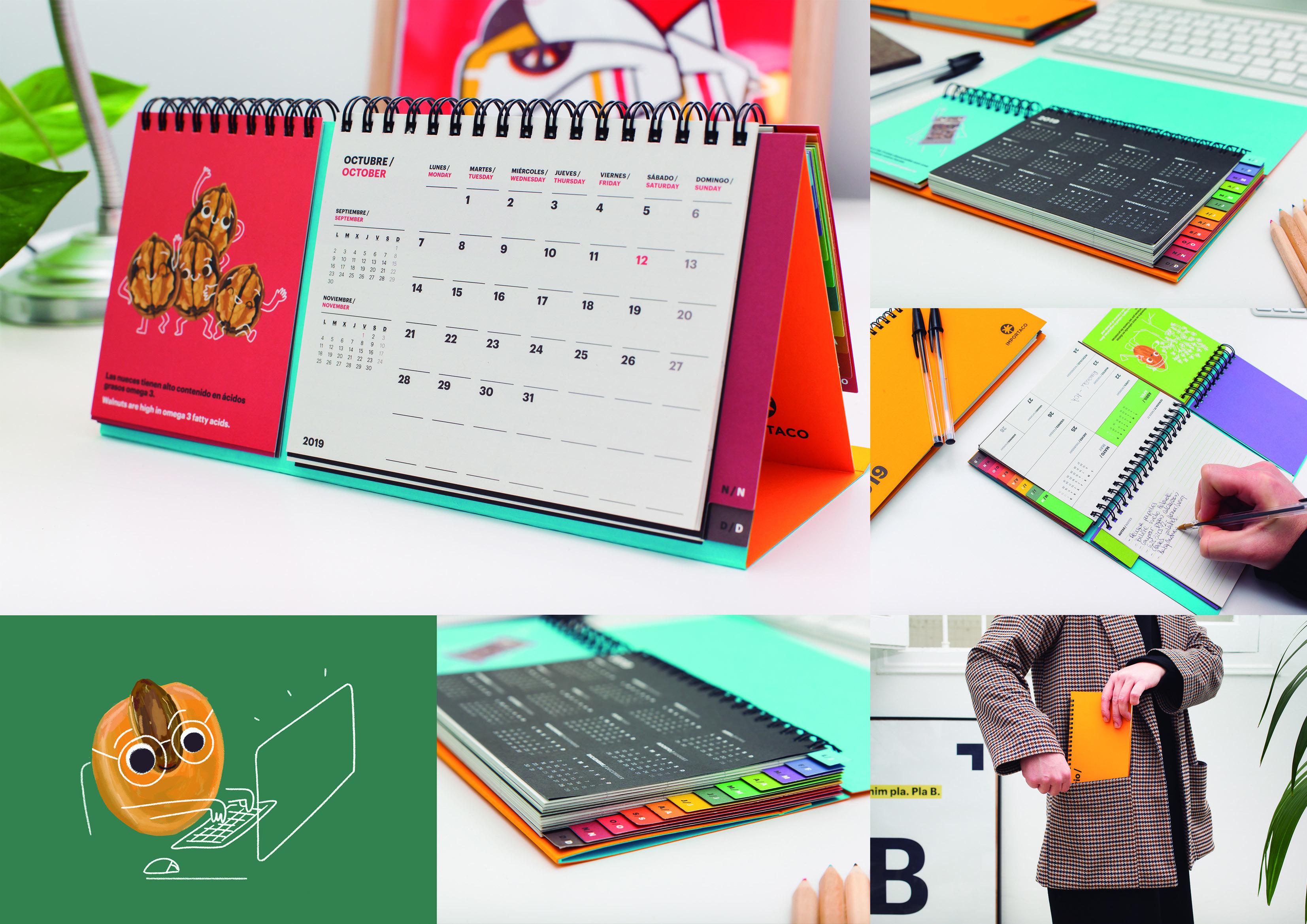 Calendario Importaco by Nueve - Creative Work