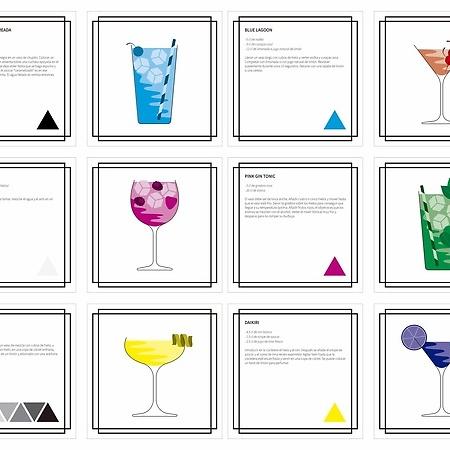 Guía de Cócteles. Libro de Color