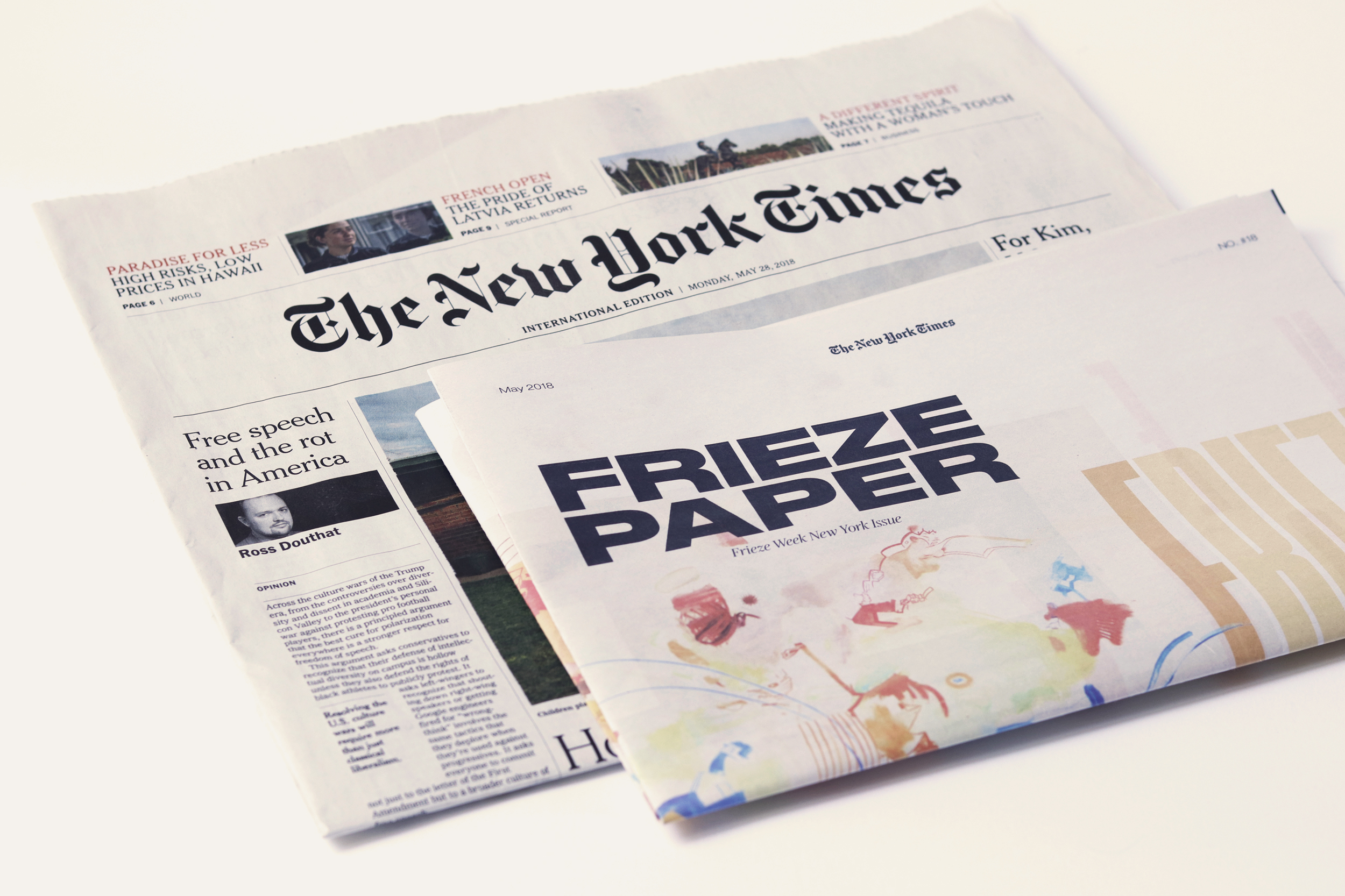 Frieze Paper by Laura Garcia Mut - Creative Work
