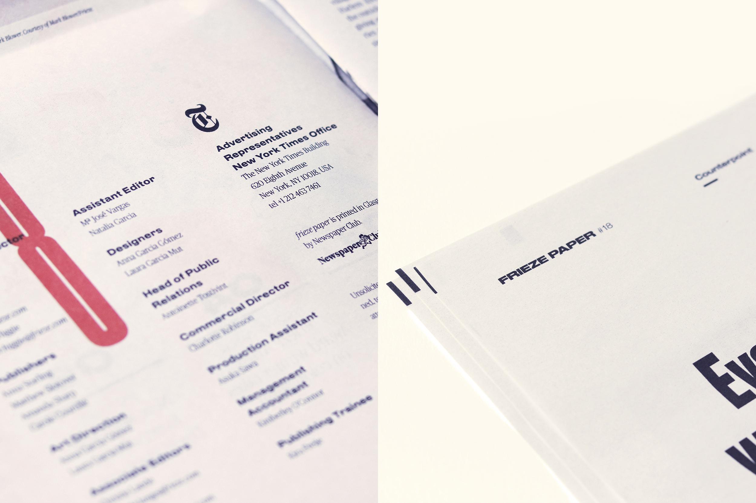 Frieze Paper by Laura Garcia Mut - Creative Work - $i