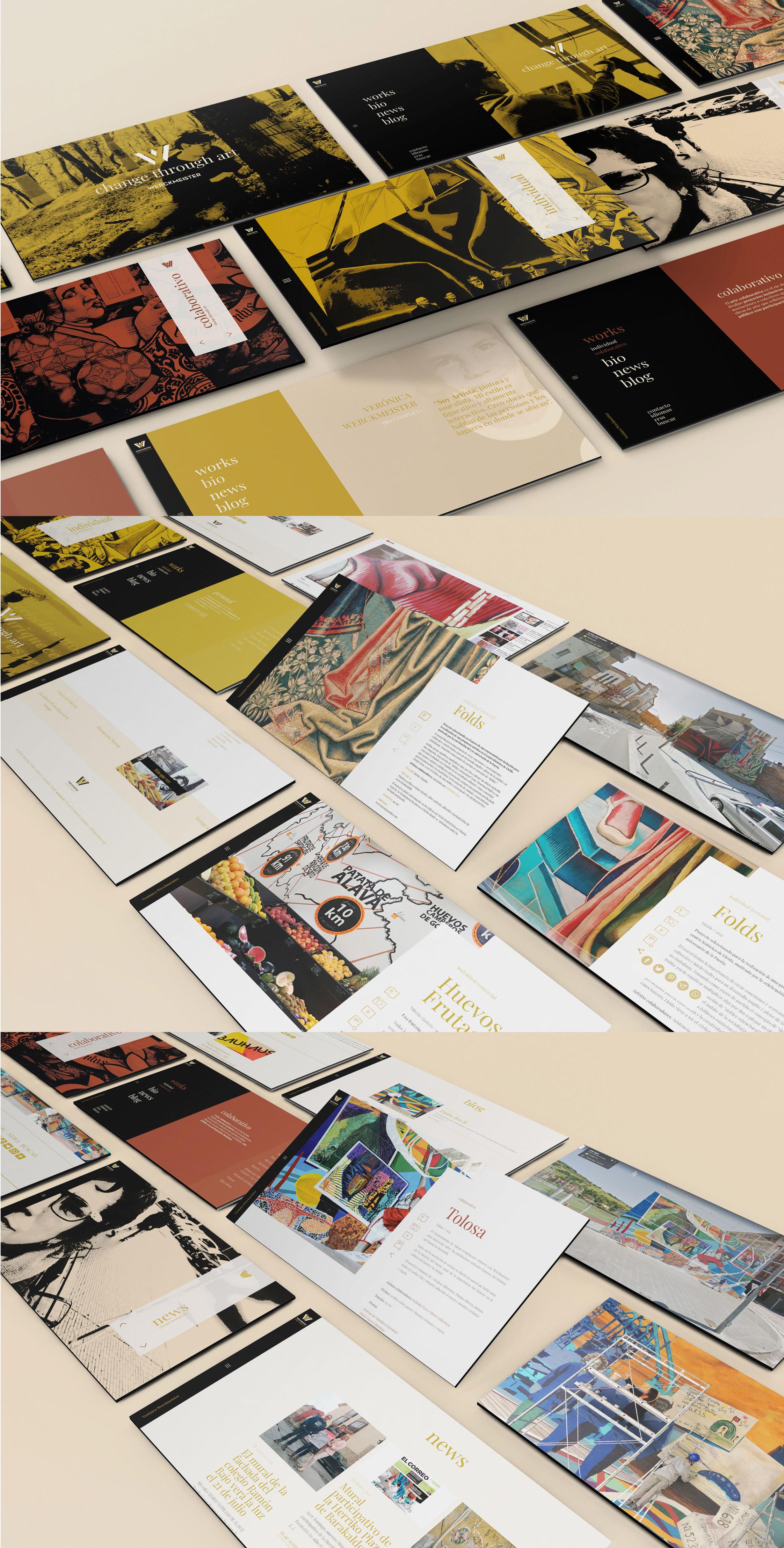 WEB VERÓNICA WERCKMEISTER by Sormen Komunikazioa, S.L. - Creative Work - $i