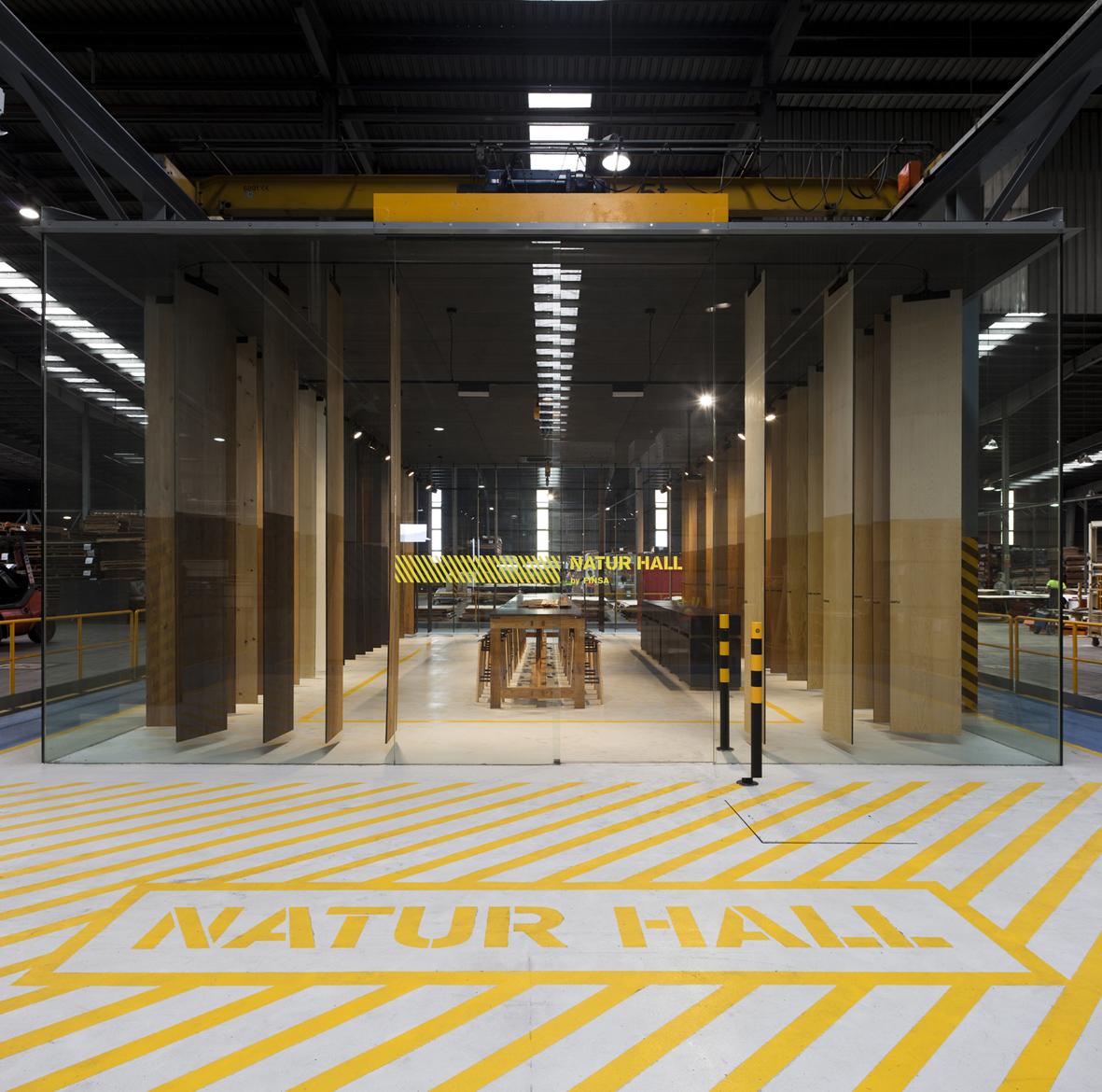 Natur Hall - Espacio expositivo FINSA by Cenlitrosmetrocadrado - Creative Work