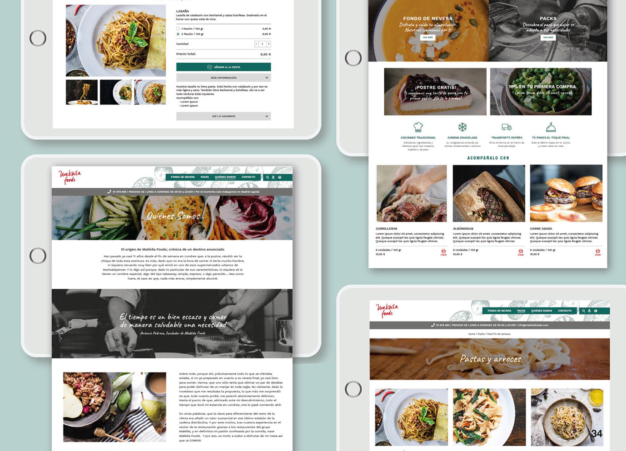 Makkila & Makkila Foods by Creatique - Creative Work - $i