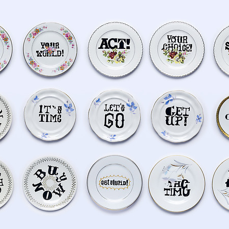 Typography and Tableware