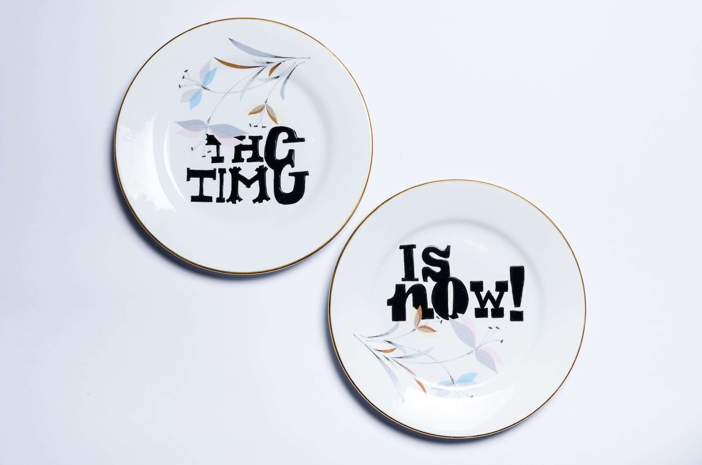 Typography and Tableware by Aintzane De Luna - Creative Work - $i