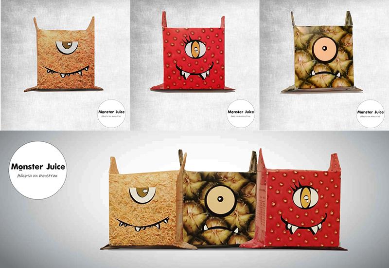 Envases de zumo para niños coleccionables by Raquel Castañeda Gelabert - Creative Work - $i