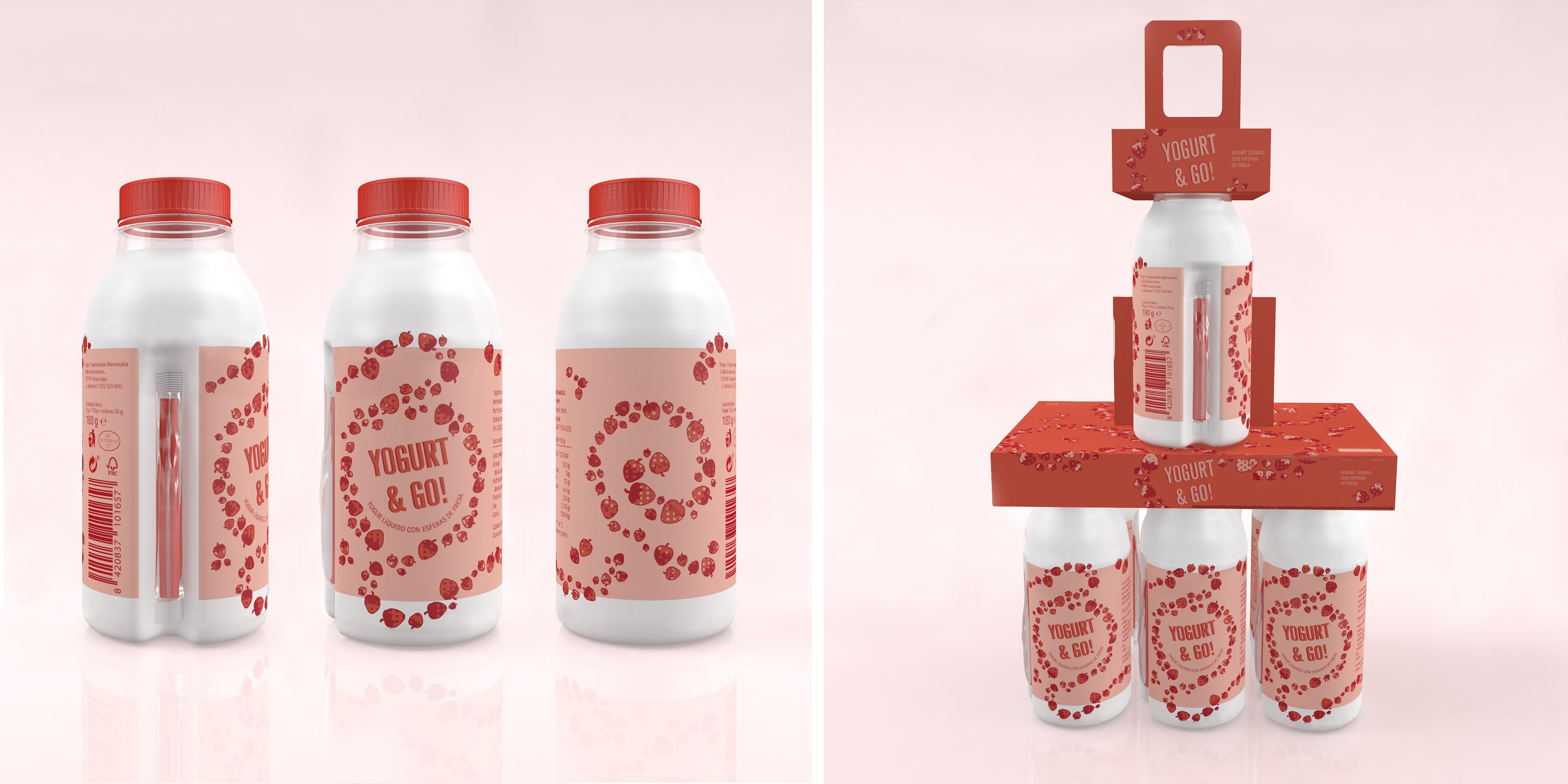 Yogurt & Go by Carlota Carrillo y Mercè Puig - Creative Work - $i