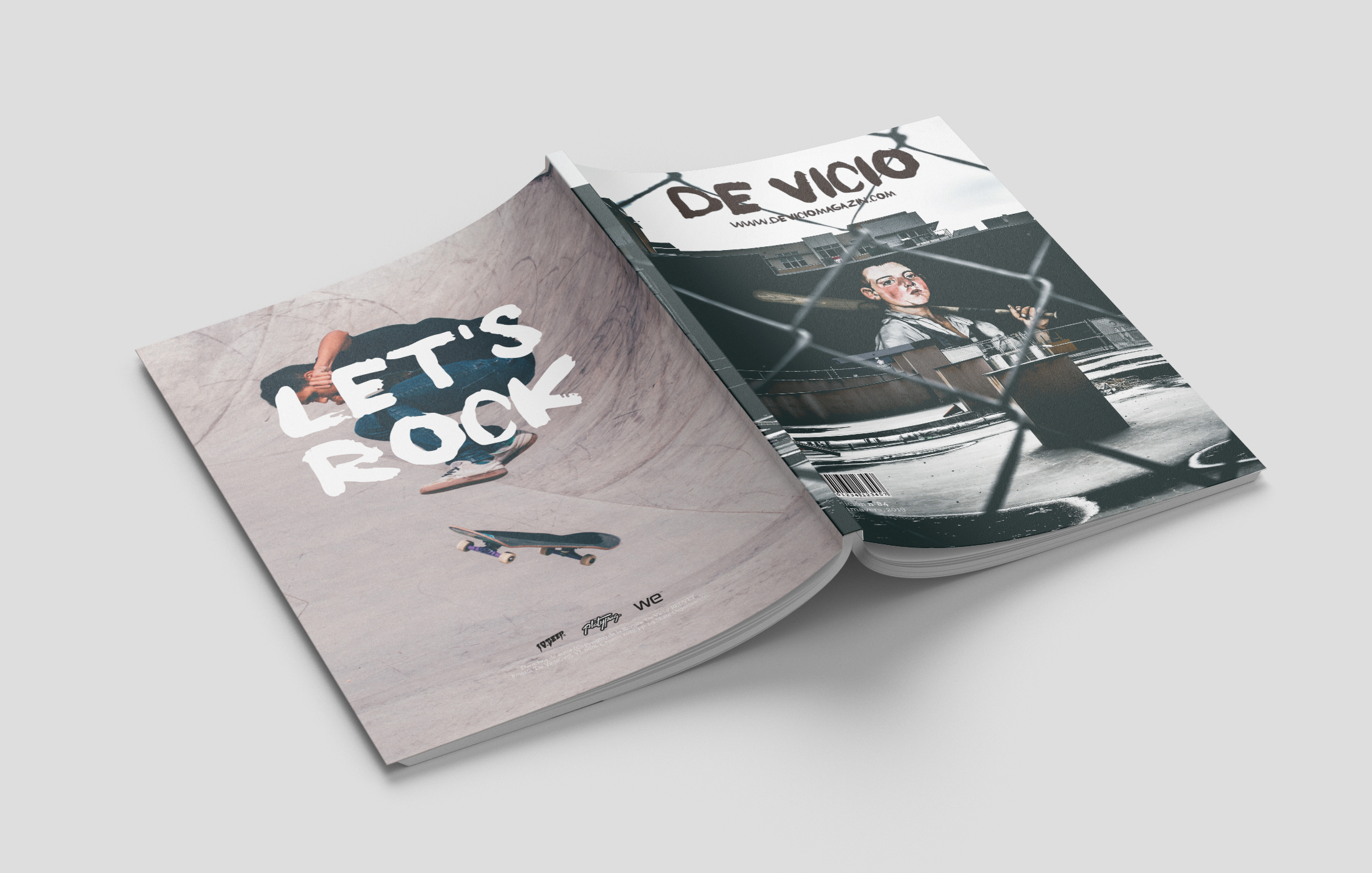 De Vicio Magazine by Alex Tornay Ollé - Creative Work