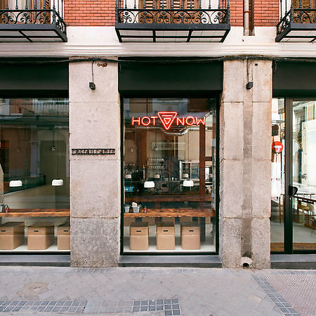 Diseño del restaurante Hot Now en Madrid