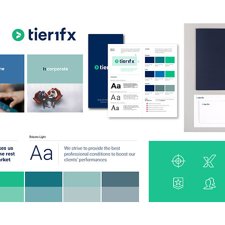 Brand Refresh and communication for Tier1fx Malta