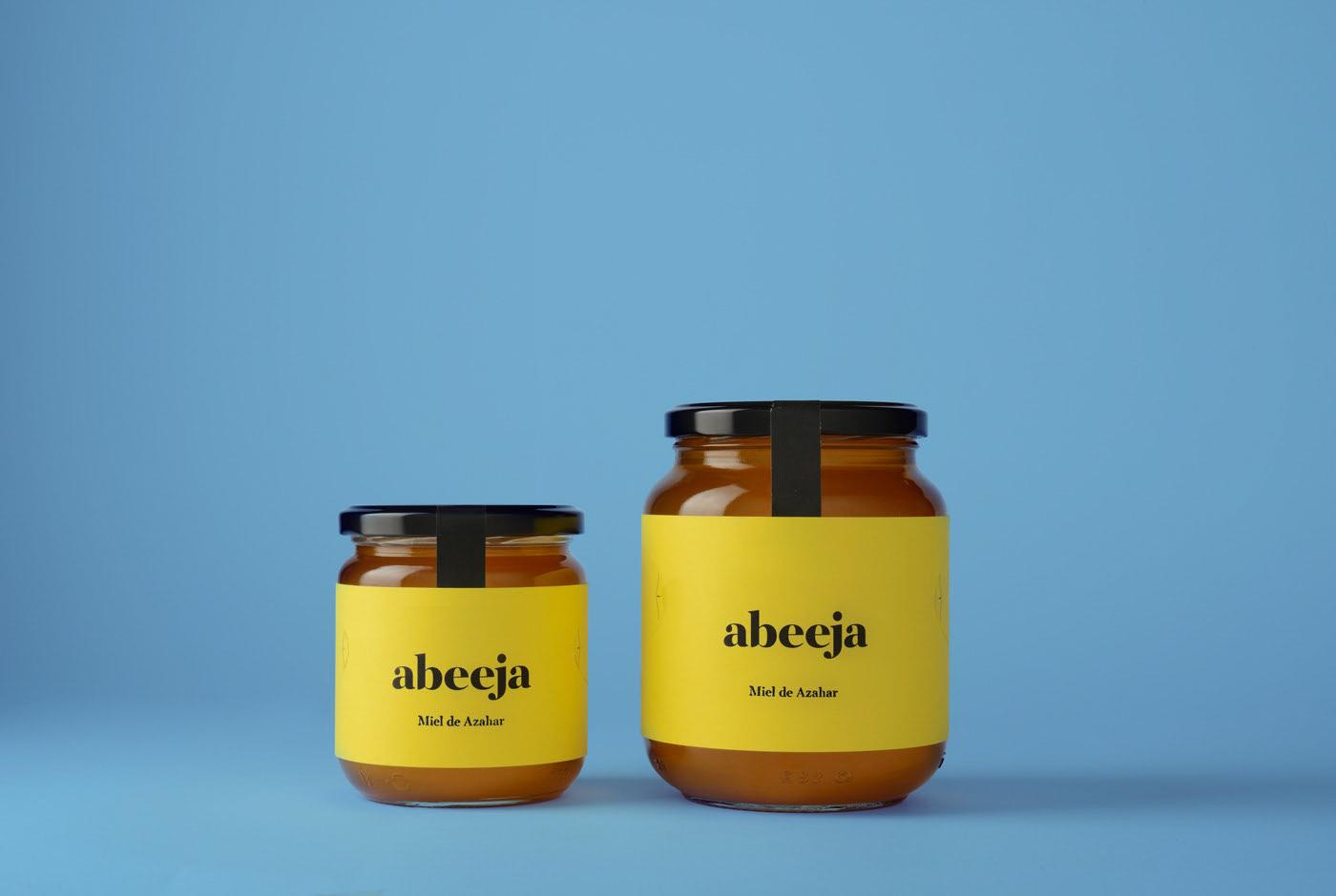 Abeeja — Honey Packaging by Andrés Guerrero - Creative Work