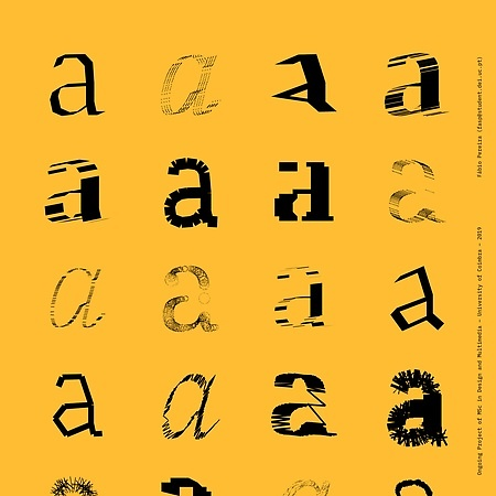 Experiments on Generative Type Design