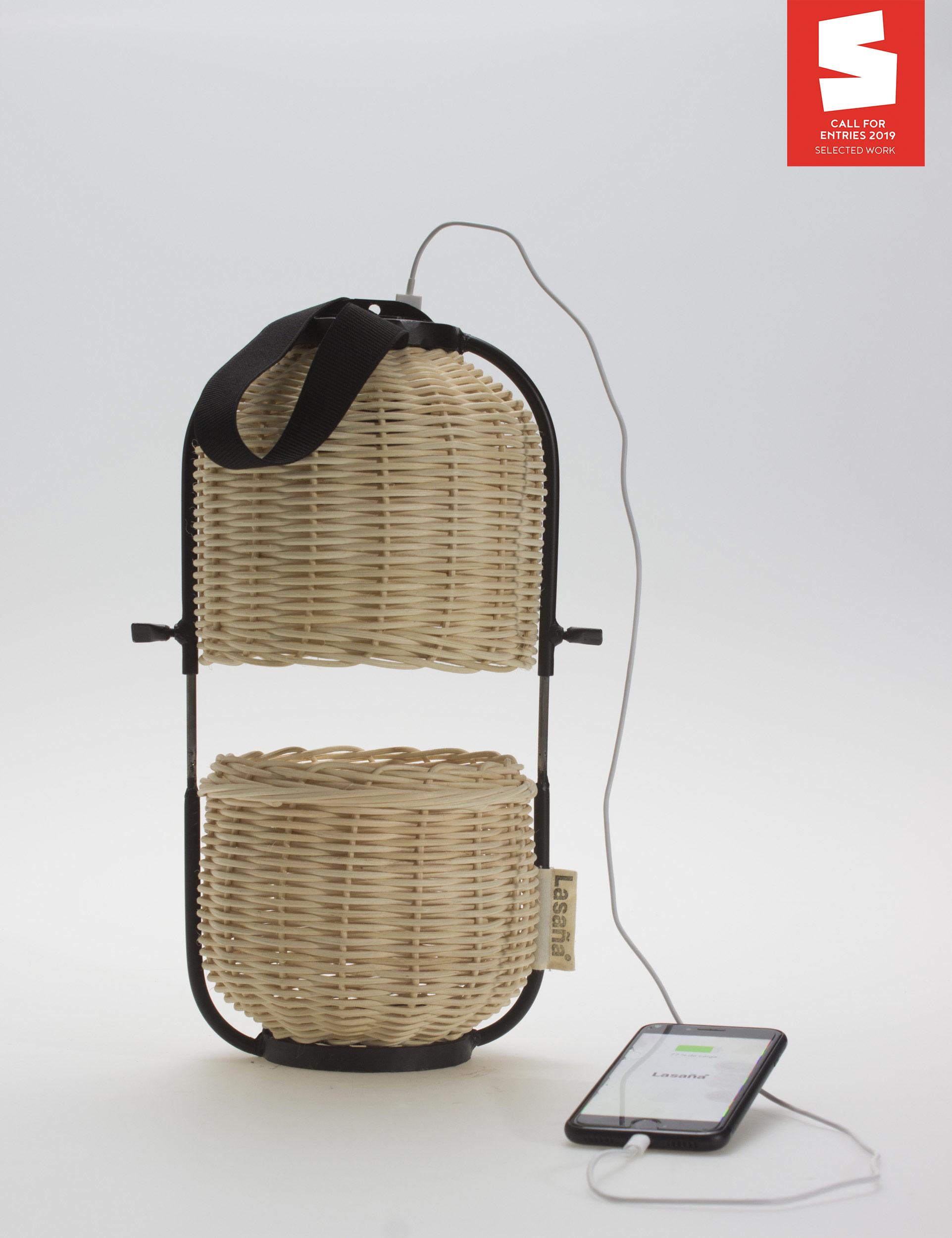 Artesana (handmade polyvalent lamp) by Nacho Casanova - Creative Work