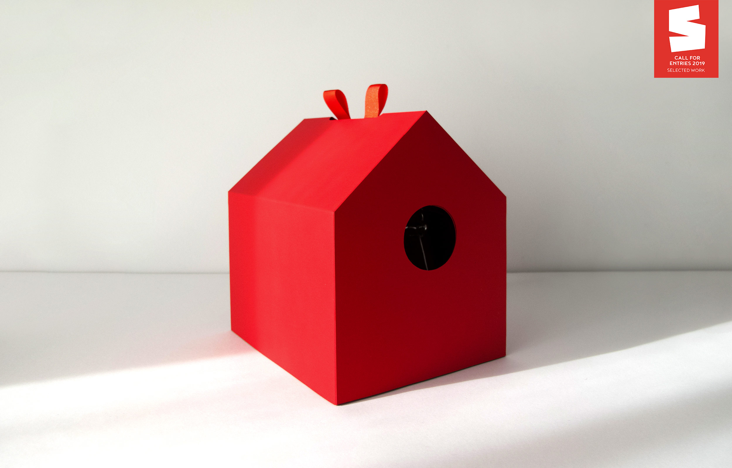 Red Birdhouse by Laura Garcia Mut - Creative Work