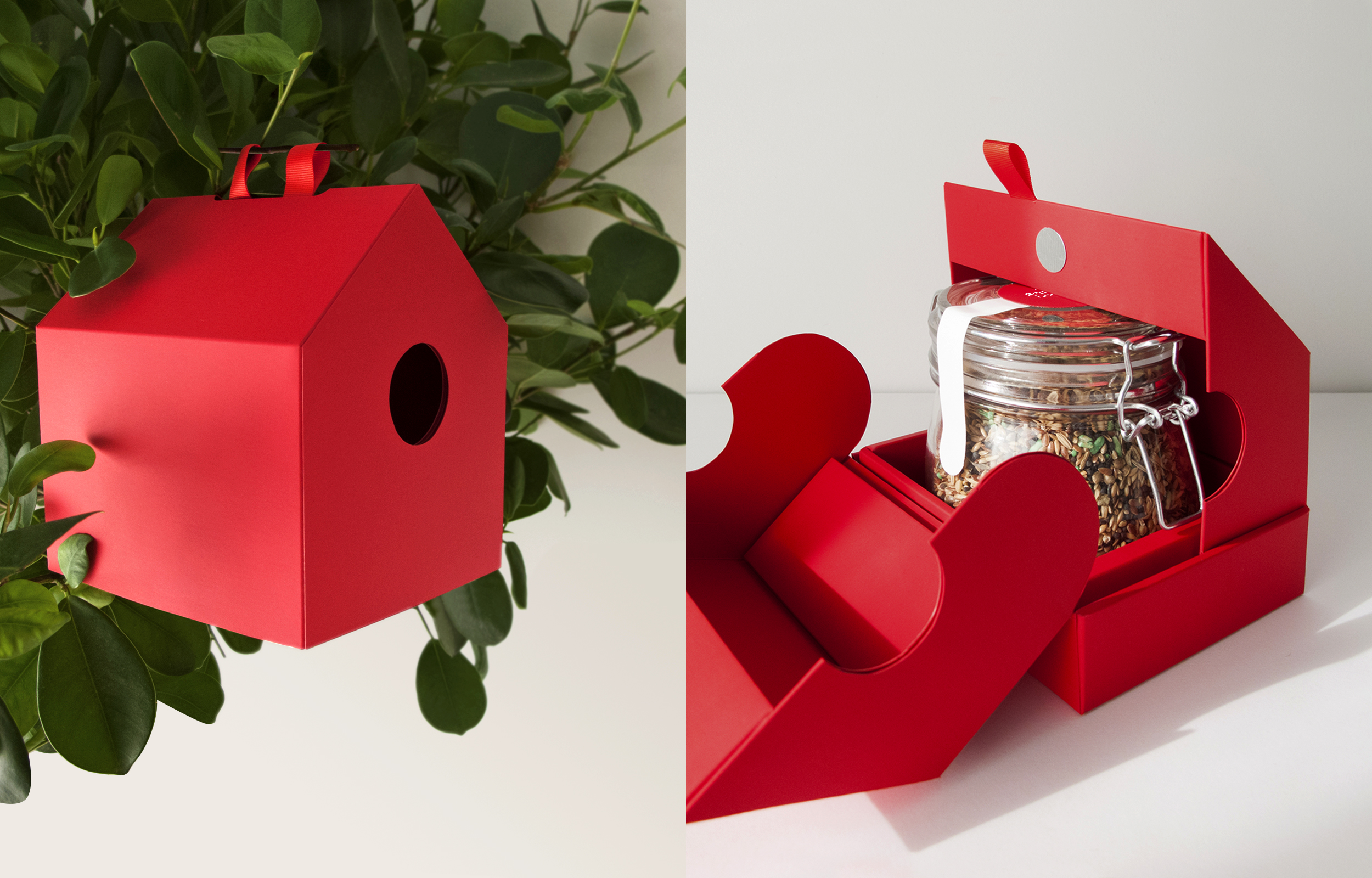 Red Birdhouse by Laura Garcia Mut - Creative Work - $i
