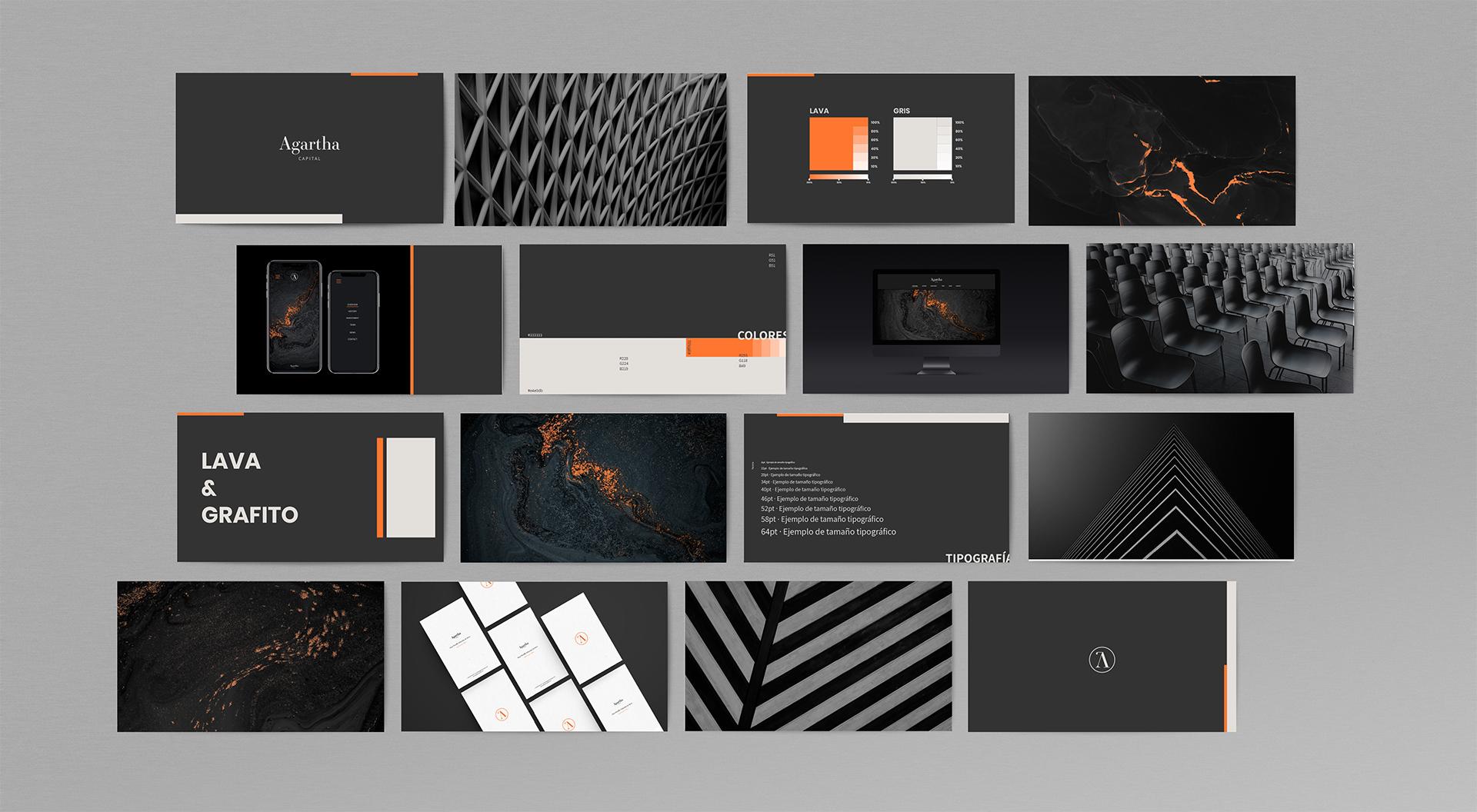 Agartha capital creación de nueva marca by LLYC - Creative Work