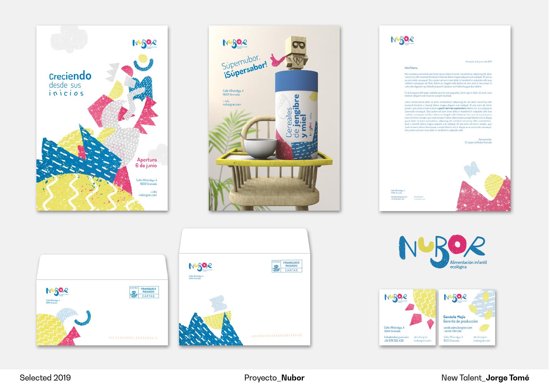 Nubor by Jorge Tomé - Creative Work